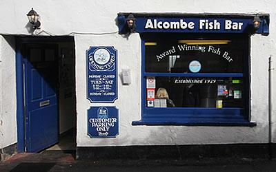 Alcombe fish bar